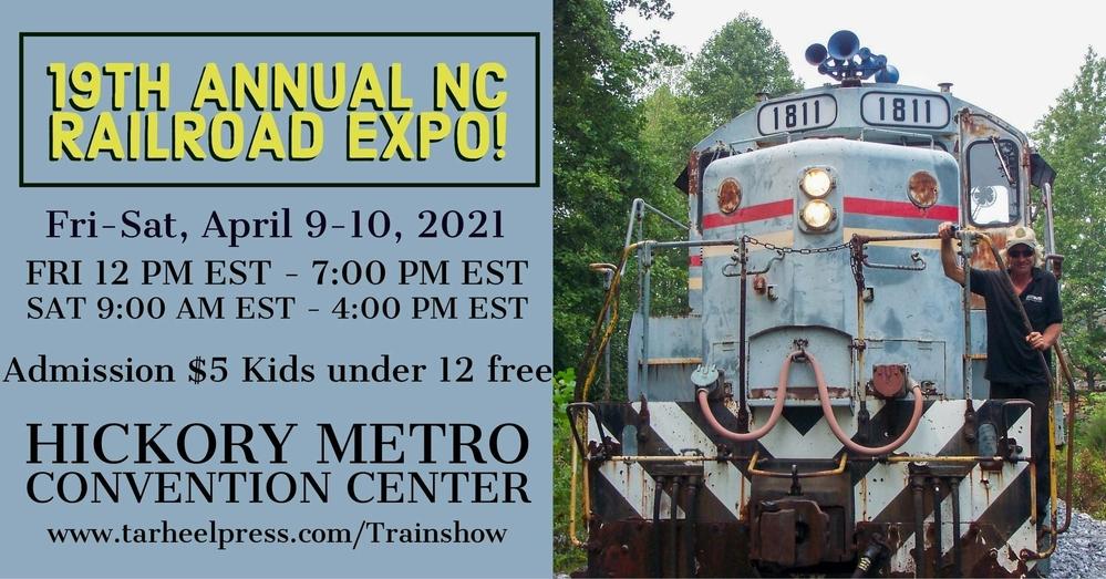 19TH ANNUAL NC RAILROAD EXPO