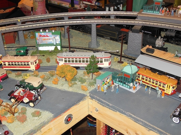 Trolley Cars @ Station [1)