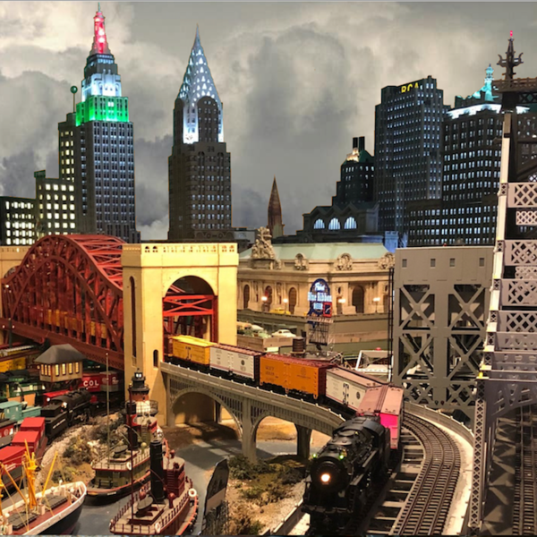 *****Skip's NYC Skyline square SMALL