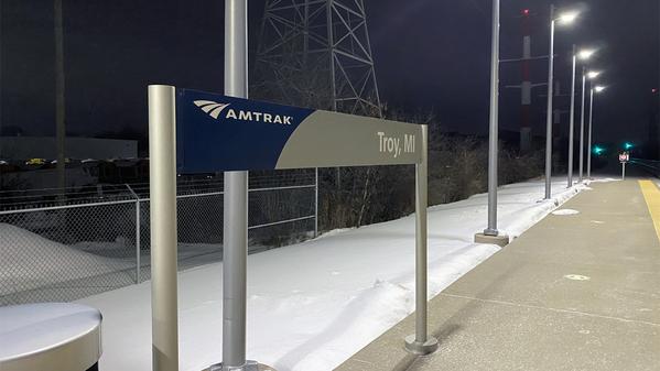 3 Platform Sign