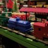 Marx 400 train rear view