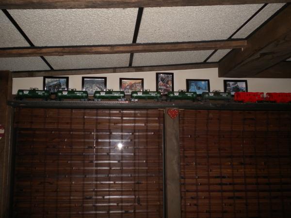 Train shelves Filled 008