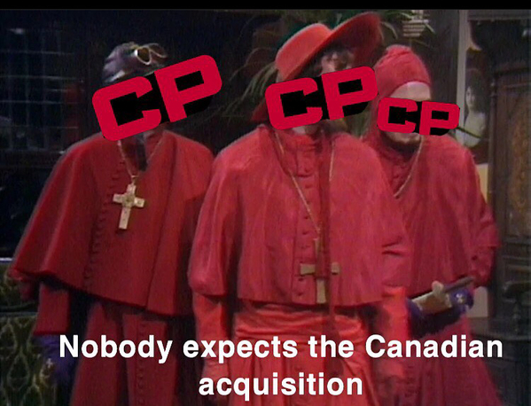 CP Nobody expects