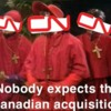 CN Nobody expects..