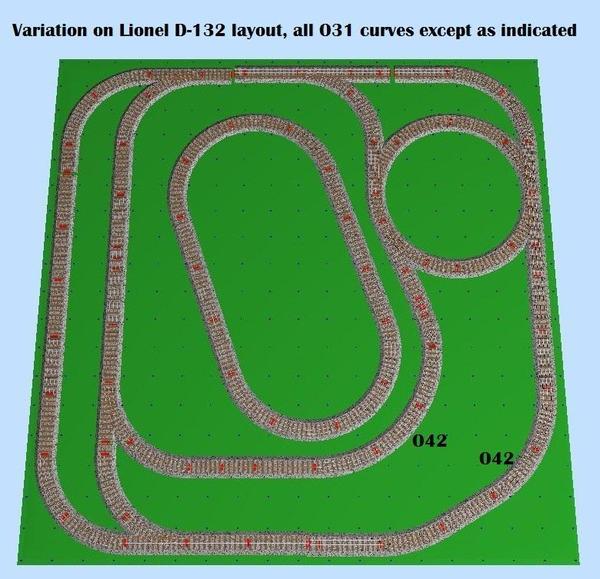 Lionel D132-m-