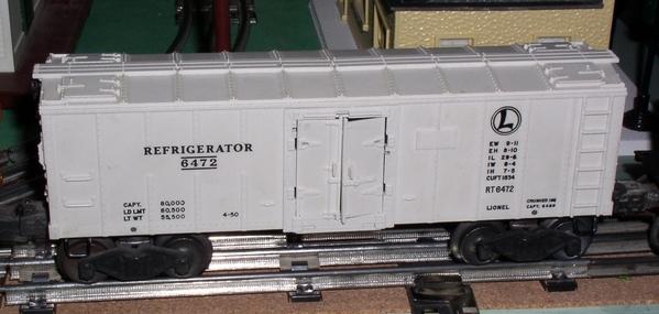 Westfield Trains Refrigerator Car 6472
