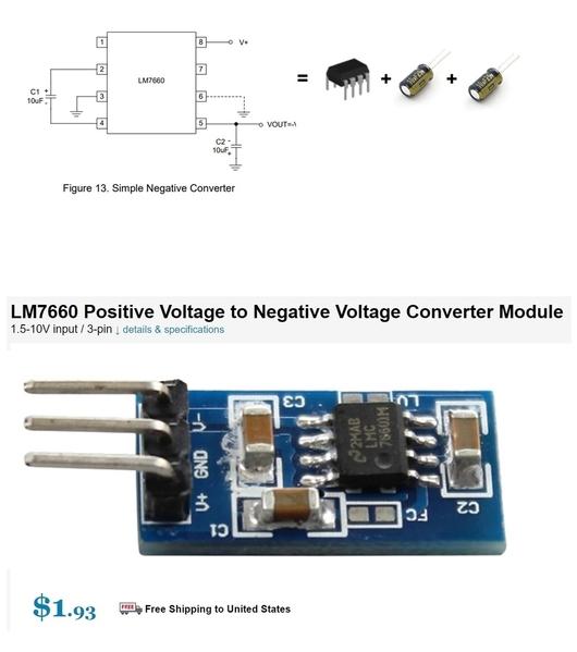 7660 voltage inverter