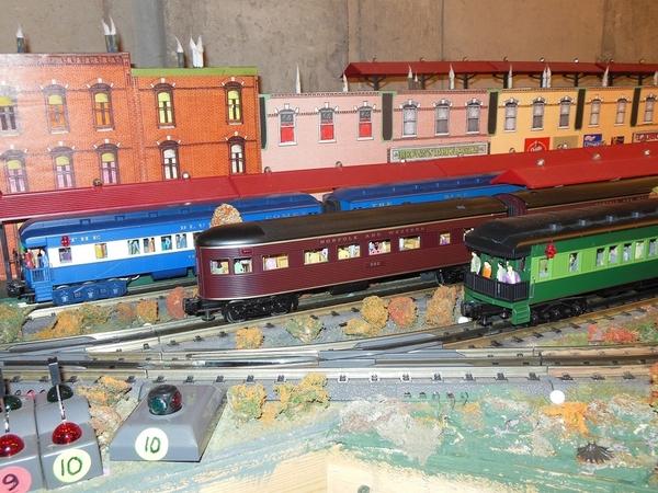 Named Trains Departing Woodside Station [1)