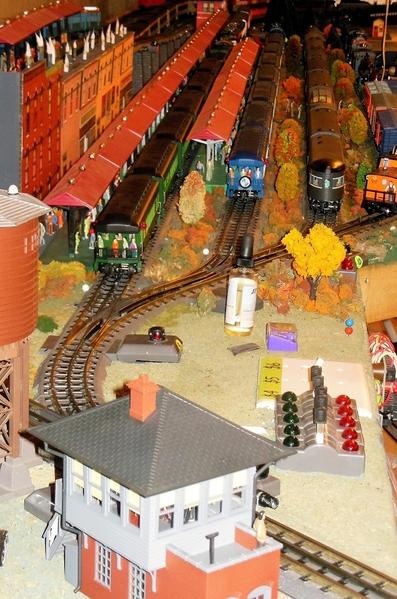 Named Trains @ Woodside Station [1)