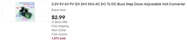 ac dc non-isolated stepdown