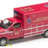 Menards 279-3498 F350 Red Ambulance