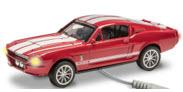 Menards 279-4234 1967 Shelby GT500 red [lighted)