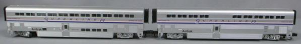 MTH 20-6541 Amtrak 2 car set 21 05 14