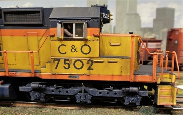 CHESS SD40-2 MTH JL 1984 21 [4)