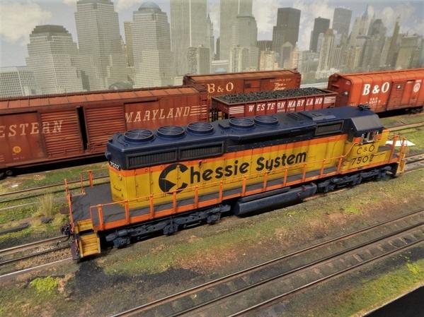 CHESS SD40-2 MTH JL 1984 21 [1)