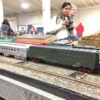 CB&Q RPO & Exp Baggage (2): On my club layout, Golden Gate Lionel RR Club