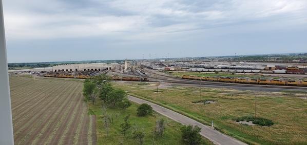 Bailey Yard Service Facility and hump yard