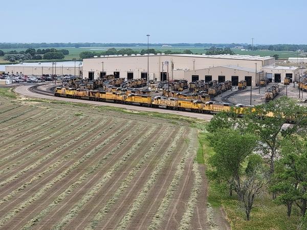 Engine Maintenance Facility Bailey Yard