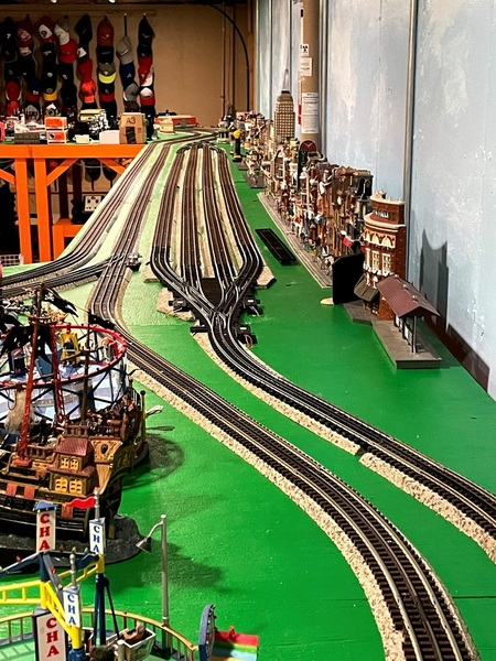 4 track siding from amusement park