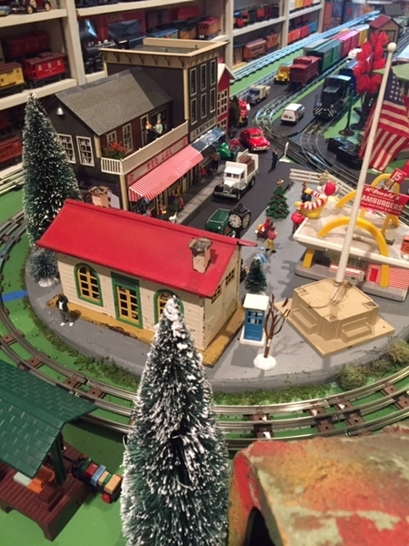 Layout Small Town Center