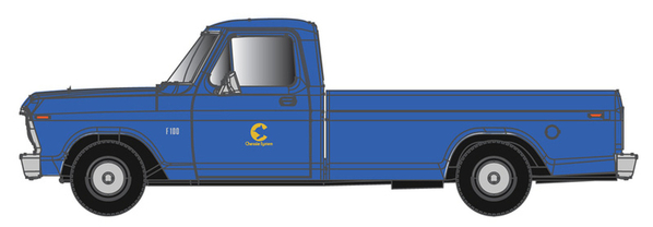 Atlas O Chessie System 1973 Ford F-100 Pick Up Truck