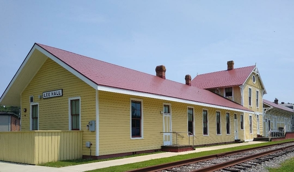 Lee Hall Depot 1