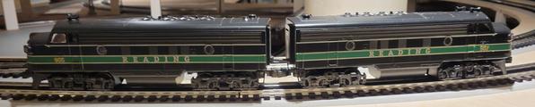 Williams F-7 A-A Reading Railroad N2