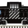 ATSF Black and Silver 44 Tonner