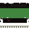 Burlington Northern SD40-2 MTH_Atlas