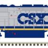 CSX SD40-2 MTH_Atlas