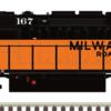 MILW SD40-2 MTH_Atlas