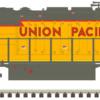Union Pacific #1938 SD40-2 MTH_Atlas