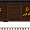 Atlas N 40' PS-1 Boxcar - 8' Youngstown U