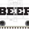 O Beer Can Tank Car BEER