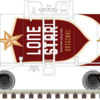 O Beer Can Tank Car Lone Star