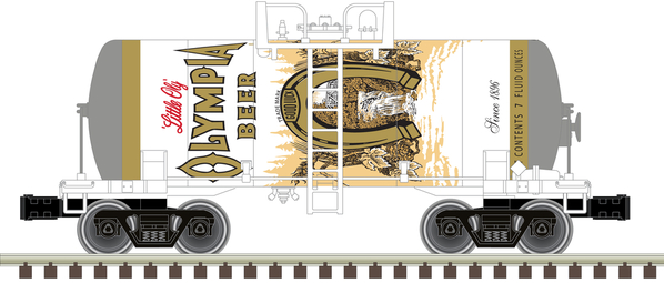 O Beer Can Tank Car Olympia