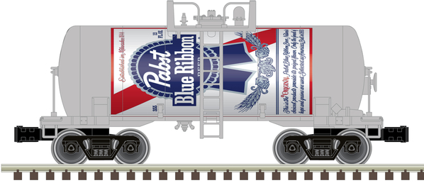 O Beer Can Tank Car Pabst