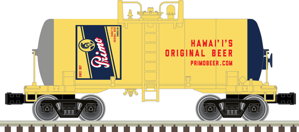 O Beer Can Tank Car Primo