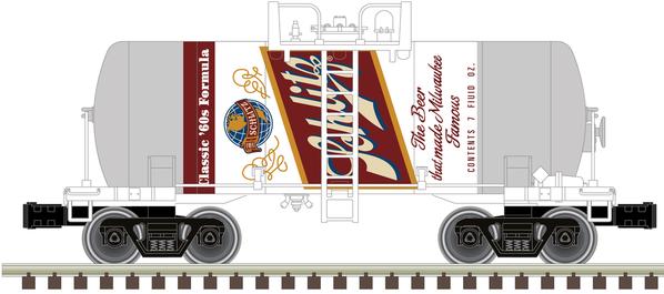 O Beer Can Tank Car Schlitz