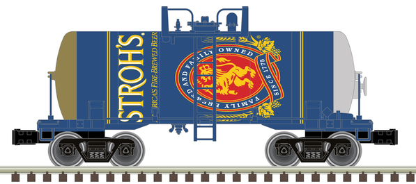 O Beer Can Tank Car Stroh's