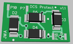 GRJ-TIU Protection Board Front 3D