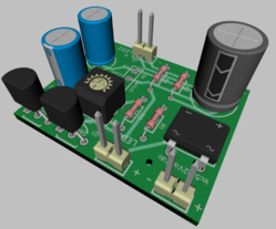 Rod-Flasher-Project 16 Version 1 PCB