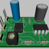 Rod-Flasher-Project 16 Version 2 3D PCB