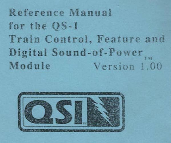 QSI Manual