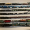 Trains on Shelves