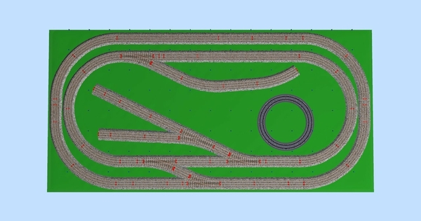 Connor's Manual Gargraves 4 x 8 Layout