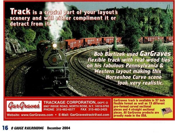 Gargraves Ad 2004