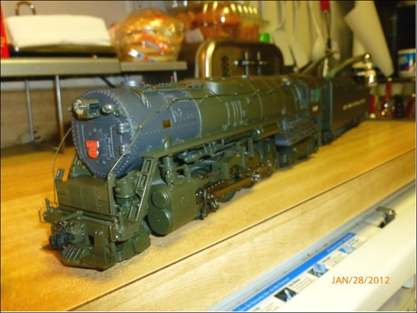 New York Central System/P&LE A2a 2-8-4 Berkshire Locomotive