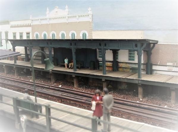 NEW DORP STATION 1963 Staten Island ED BOMMER Build [2)