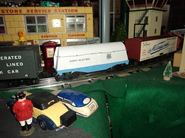 new haven milk car done